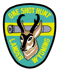 One Shot Antelope Hunt Badge